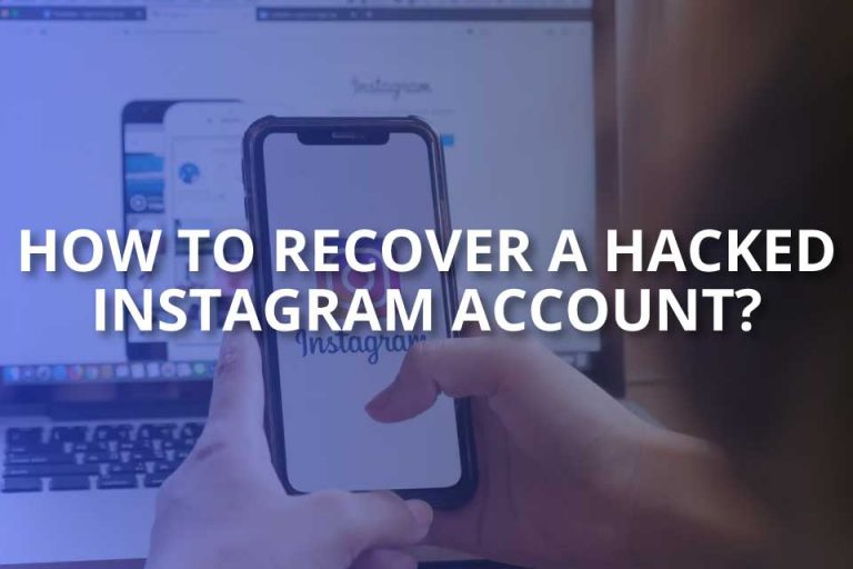 How to Recover a Hacked Instagram Account?