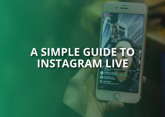a simple guide to instagram live